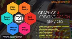 Graphic design services india at affordable cost - gotitnow. Best Digital Marketing Company, Digital Marketing Strategy, Digital Marketing Services, Online Marketing, Logo Image, Header Image, Business Branding, Business Flyer, Web Design