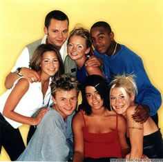 Ssss Cluuuuub....there ain't party like an S Club partaaaaaaay!!!!!! oh childhood <3 I would wake up every saturday morning to watch power rangers, braceface, and these guys on abcfamily which used to be called fox family =p <3 <3