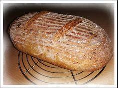 ...svet okolo mňa ...: Lievito madre v akcii...pšenično-ražný chlieb... Baked Potato, Potatoes, Bread, Baking, Ethnic Recipes, Food, Basket, Potato, Brot