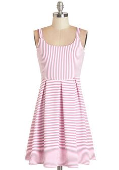 Potpourri Purveyor Dress. Blending essential oils and dried flowers went from your hobby to your business, and now you love attending craft fairs to sell your recipes in this bright striped dress!