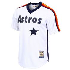 Men's Houston Astros Majestic White Cool Base Cooperstown Team Jersey