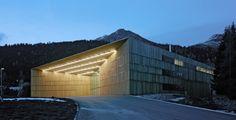 Degelo Architekten - Congress center, Davos 2010. Via, photos ©...