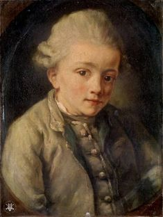 Mozart at age eight. In his short life Mozart composed 655 pieces of music, including 59 symphonies, 176 chamber pieces and 23 operas.