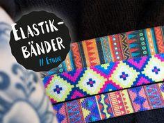 Langweilig war gestern! Stylish, hip und absolut trendy – das sind unsere elastischen Einfassbänder! #stickandstyle