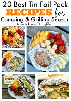 20 Best Tin Foil Packet Recipes for Camping & Grilling Season camping food, camping food ideas #camping #recipe