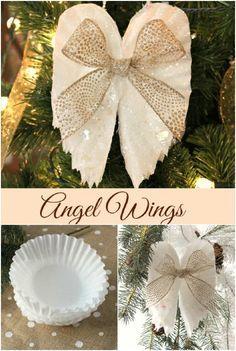 Coffee Filter Angel Wings                                                                                                                                                                                 More