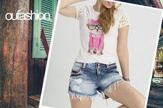 O animal face chegou para ficar! Amamos essa trend fashion e fofa, e você? #oufashion #cute #animalface #verão2016