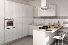 Cucina: composizioni chiavi in mano, salvaspazio e low cost - Cose di Casa