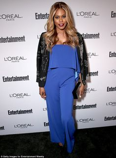 Pretty lady:The starlet headed to the Entertainment Weekly Pre-Emmy party…