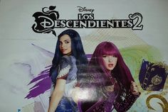 Mal and Evie in Descendants 2