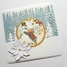 Papiernictvo - Vianočná pohľadnica - 8504271_