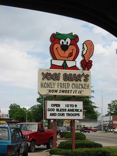 Yogi Bear's Honey Fried Chicken......Hartsville, South Carolina