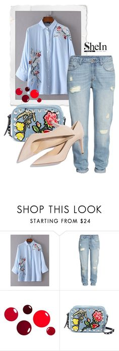 """Sem título #690"" by joananazar ❤ liked on Polyvore featuring H&M, Steve Madden and M. Gemi"