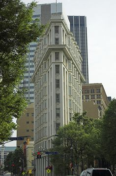 The Flatiron in Atlanta predates the one in NYC by five years...and is built by the same Chicago School architect.