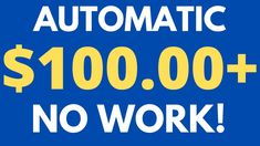 Get Paid $5 To $1000 Weekly! (EASY METHOD!) | Make Money Online For Begi... Make Money Blogging, Make Money From Home, Way To Make Money, Make Money Online, Internet Marketing, Social Media Marketing, Surveys For Money, Money Now, Extra Money