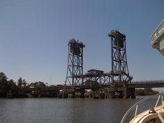The old Wardell bridge.