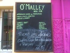 O'Malley's Irish Pub, Carrer Sant Magí.