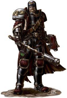 Warhammer 40k - Adeptus Arbites Male Arbitrator