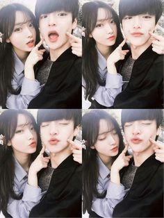 Page 3 Read from the story ulzzang by hopeordope (billie) with reads. Mode Ulzzang, Korean Ulzzang, Ulzzang Girl, Funny Couple Poses, Funny Couples, Cute Korean, Korean Girl, Asian Girl, Parejas Goals Tumblr