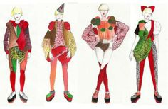 Drawings of Claire O'Keefe