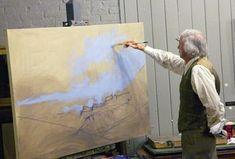 Oil Painting Landscape Tutorial   Step 2 #OilPaintingLandscape #OilPaintingTutorial