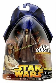Star Wars E3 BF37 AGEN KOLAR by Hasbro. $7.00. Add to your Revenge of the Sith collection. Ages 4 and up. Must have for any Star Wars enthusiast. Agen Kolar is the same species as Council Member Eeth Koth!   He accompanies Mace Windu on a special mission in ROTS!   Includes removable Lightsaber and a terrain base!. Save 30%!