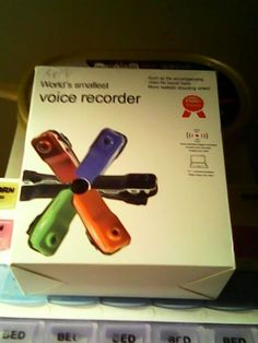 MINI DV WORLDS SMALLEST VOICE RECORDER *PLEASE LOOK AT PICS FOR DETAILS* NEVER USED IT