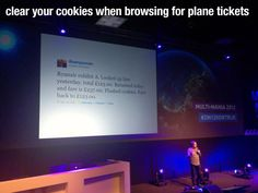 clear your cookies when browsing for plane tickets