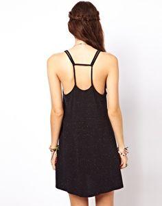 Image 2 ofASOS Strappy Swing Dress In Bright Nepi
