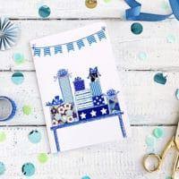 Washi Tape Geburtstagskarte Washi Tape Diy, Culture, Birth, Projects, Cards, Ideas