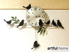 Check lastest price European Garden Fashionable individual character wall clock,Forrest bird, swing creative clocks Creative colorful Forest bird just only $31.49 - 34.73 with free shipping worldwide  #clocks Plese click on picture to see our special price for you