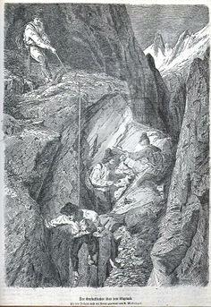 Cristalliers _ Gravure de 1875