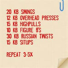 Russian Kettlebell Workouts - Bing Images