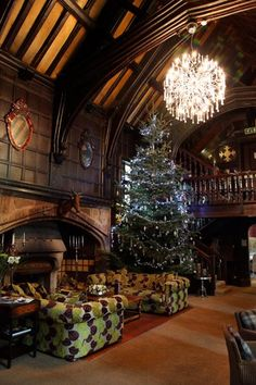 Mitton hall xmas tree Country House Hotels, Luxury Accommodation, Xmas Tree, Places To See, Wedding Venues, Buildings, Dream Wedding, Christmas, Pictures