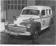 375 Best Vintage US Ambulances images in 2019 | Ambulance, Emergency