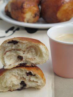 Mi mesa para tres: Bollos de buttermilk con pepitas de chocolate