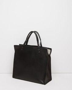 Yohji Yamamoto   Leather Tote   La Garçonne