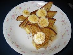 Bariatric Foodie: Bananas Foster French Toast