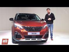 2016 Peugeot 3008 2 : découverte en vidéo du nouveau SUV (prix, moteurs,...
