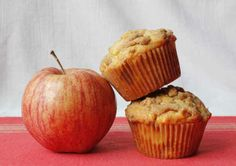 Apple Crumble Muffins - fat pig in the market