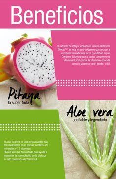 ¡Descubre los beneficios de la Pitaya y el Aloe Vera !