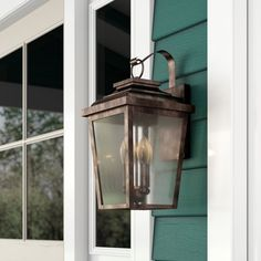 I like this unique outdoor lighting post Outdoor Barn Lighting, Outdoor Post Lights, Outdoor Hanging Lanterns, Outdoor Sconces, Outdoor Wall Lantern, Outdoor Walls, Front Door Lighting, Porch Lighting, Exterior Lighting