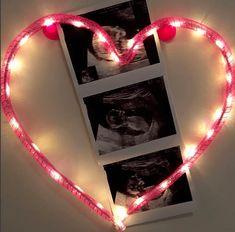 Glowing heart.