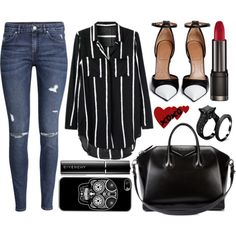 street style by sisaez on Polyvore featuring H&M and Givenchy