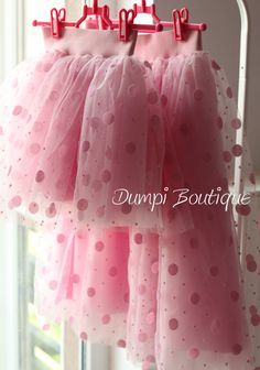 Matching Mom and Daughter Pink Tulle Skirts/Matching Outfit/Skirt for girl/Mommy and baby skirts/Mother daughter skirt/Mommy and me clothing