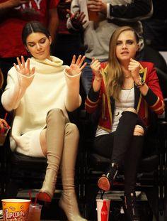 Kendall Jenner + Cara Delevingne