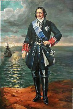 Пётр I Русский Император.