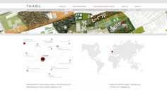Pàgina web per l'estudi d'arquitectura Taab6 | www.taab6.com Projects, Log Projects, Blue Prints