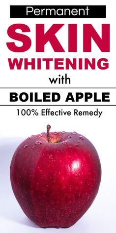 Permanent Skin Whitening With Boiled Apple, Get Fair, Spotless, Glowing, Milky Whiten Skin – Works skinlightening skinwhiteningtips skinwhiteningdiy fairskin glowingskin diyhacks 504755070737770560 Beauty Tips For Glowing Skin, Natural Beauty Tips, Beauty Skin, Skin Care Masks, Diy Skin Care, Natural Skin Whitening, Natural Skin Care, Teeth Whitening, Skin Tips
