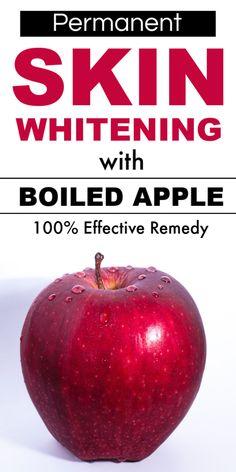 Permanent Skin Whitening With Boiled Apple, Get Fair, Spotless, Glowing, Milky Whiten Skin – Works skinlightening skinwhiteningtips skinwhiteningdiy fairskin glowingskin diyhacks 504755070737770560